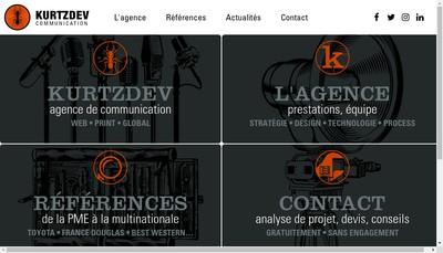 Site internet de Kurtzdev