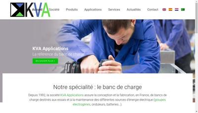 Site internet de SARL Kva Application