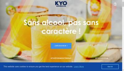 Site internet de Bio Brasseurs