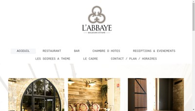 Site internet de L-Abbaye