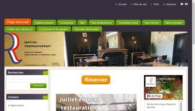 Site internet de Hotel de l'Agriculture