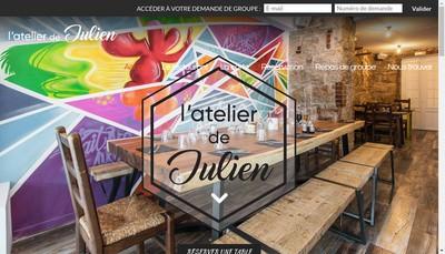 Site internet de Julien