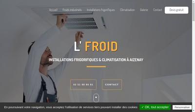 Site internet de L'Froid