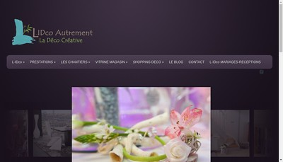 Site internet de Valerie Bassery