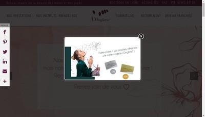 Site internet de L'Onglerie