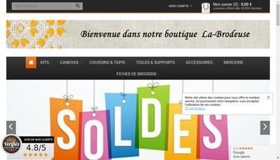 Site internet de Arts&Crafts Diffusion - Decoloisirs - la Brodeuse - Broderie du Monde - Tricot et Broderie