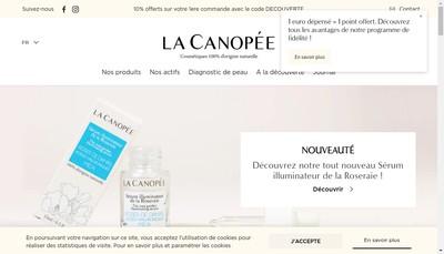 Site internet de La Canopee
