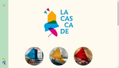 Site internet de La Cascade