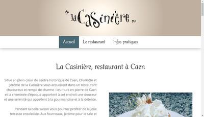 Site internet de La Casiniere
