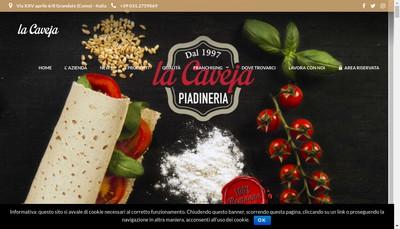 Site internet de La Caveja