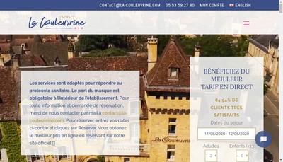 Site internet de EURL la Couleuvrine