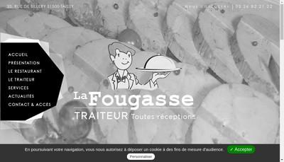 Site internet de La Fougasse