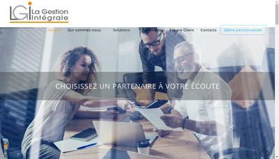 Site internet de La Gestion Integrale