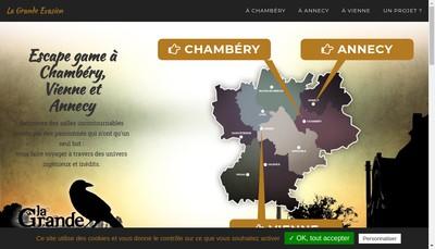 Site internet de LA GRANDE EVASION