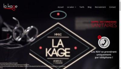 Site internet de La Kage