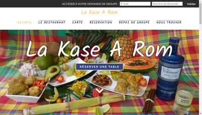 Site internet de La Kase a Rom
