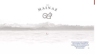 Site internet de La Mainaz Hotel Restaurant & Resort