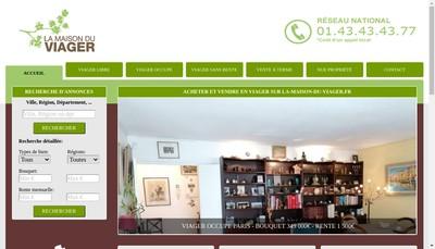 Site internet de La Maison du Viager