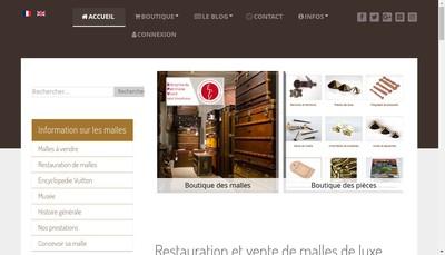 Site internet de Reve de Bagages