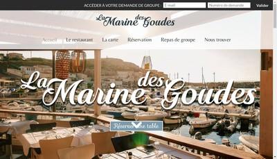 Site internet de La Marine des Goudes