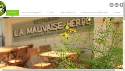 Site internet de La Mauvaise Herbe