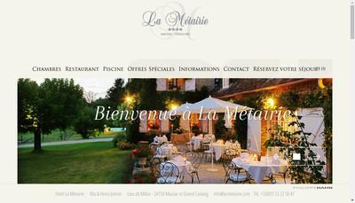 Site internet de La Metairie