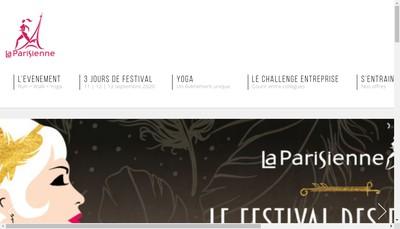 Site internet de La Parisienne