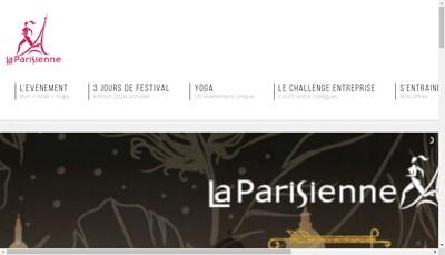 Site internet de Course Parisienne Course Parisienne