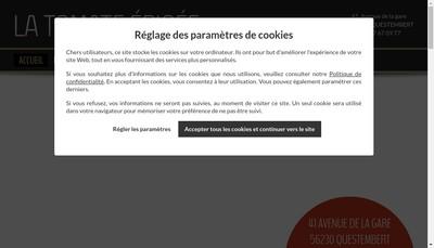 Site internet de La Tomate Epicee