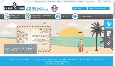 Site internet de Ftfm la Toulousaine