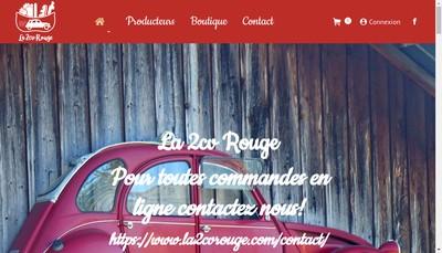 Site internet de La 2Cv Rouge
