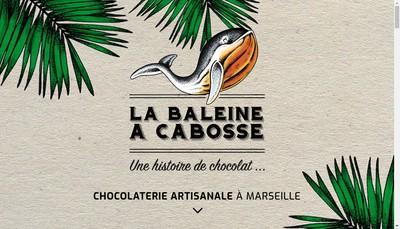 Site internet de La Baleine a Cabosse