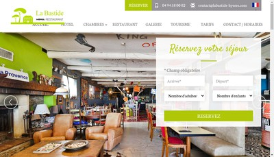 Site internet de La Bastide