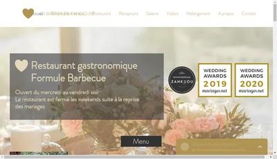 Site internet de La Bastide de Fangouse
