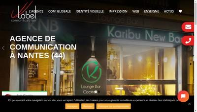 Site internet de Label Communication-Label Formation-Label Enseigne-Label Creation