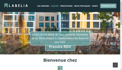 Site internet de Labelia