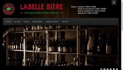 Site internet de Labelle Biere