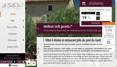Site internet de La Belle Vie