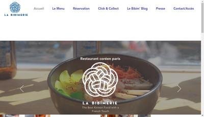 Site internet de La Bibimerie