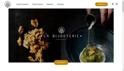 Site internet de La Bijouterie