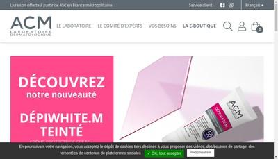 Site internet de Acm