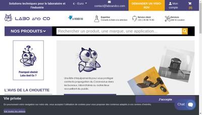 Site internet de Laboandco