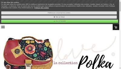 Site internet de Laeticia Lesluyes