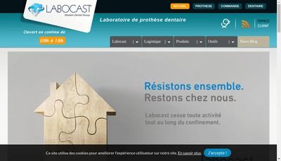 Site internet de Labocast