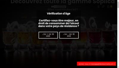 Site internet de La Boissonnerie