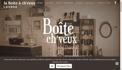 Site internet de La Boite a Ch'Veux