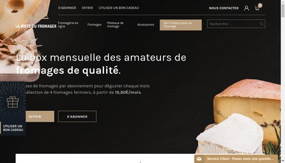 Site internet de Welness & Co