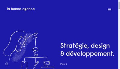 Site internet de La Bonne Agence