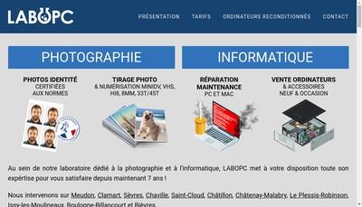 Site internet de Labopc