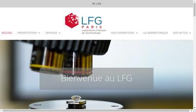 Site internet de Laboratoire Francais de Gemmologie